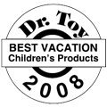 Dr. Toy's Best Product Award Summer 2008 for Clicktoy - The Meadow
